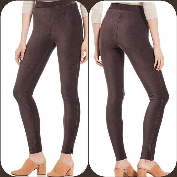 d533dc2625452 HUE Pants | Chocolate Brown Corduroy Leggings | Poshmark